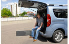 Opel Combo, Ladekante, Kofferraum