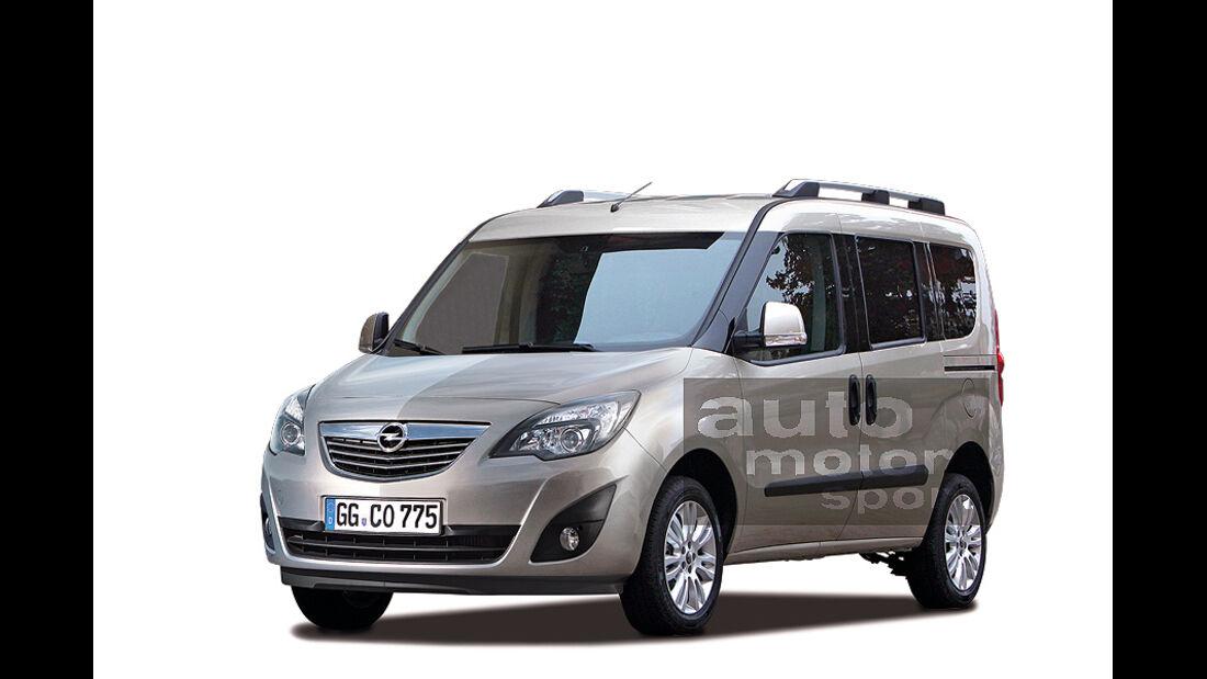 Opel Combo, Retusche