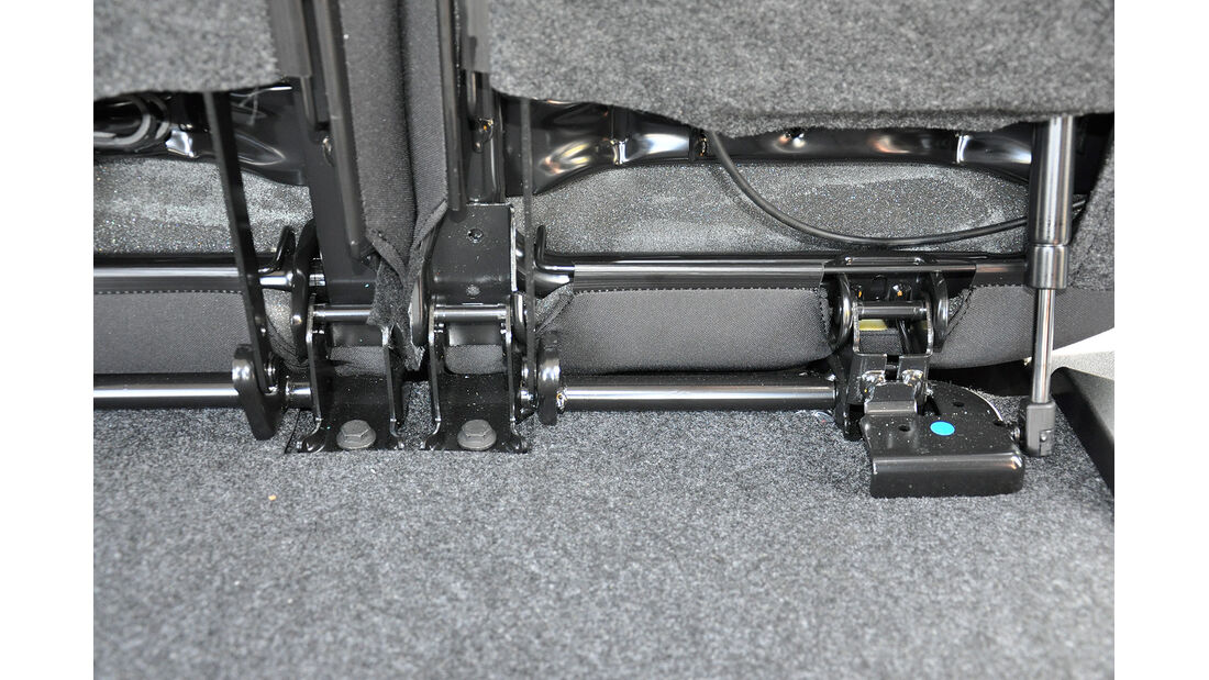 Opel Combo, Rückbank