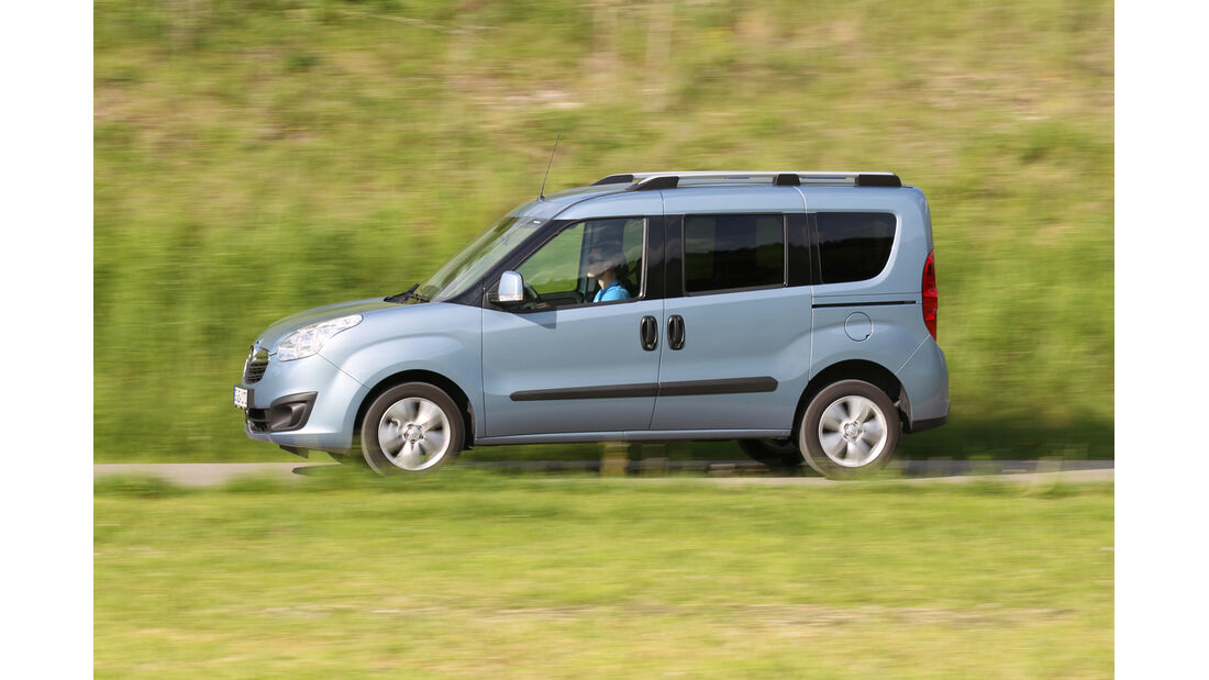 Opel Combo, Seitenansicht