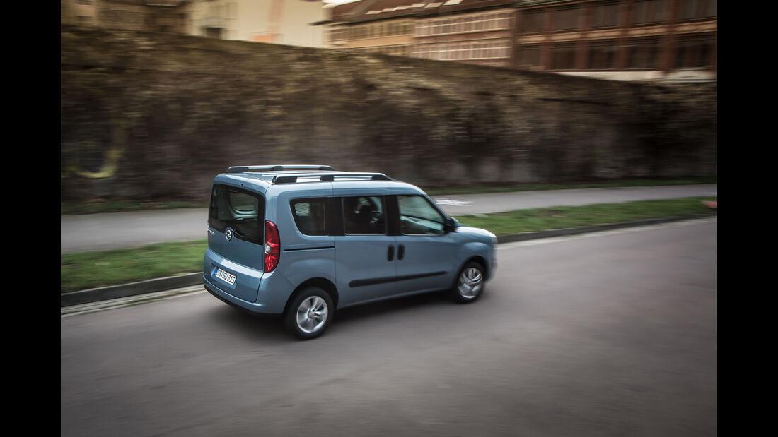 Opel Combo Tour, Van, Alltagstest, 03/2016