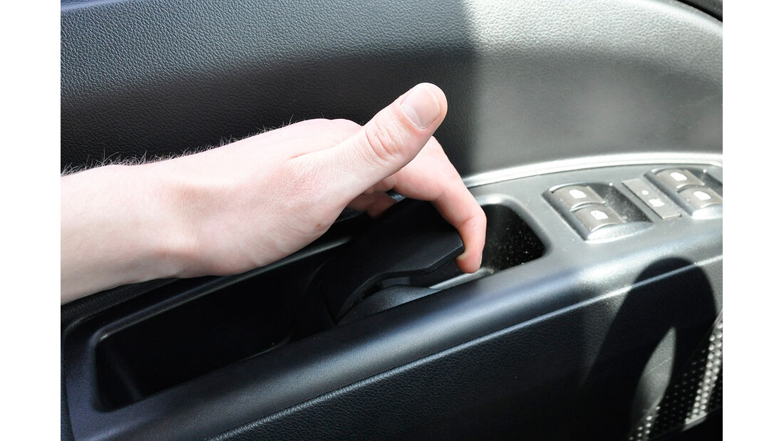 Opel Combo, Türöffner