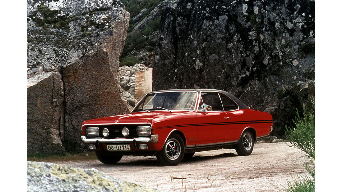 Opel Commodore A, Coupé, GSE, 1970-1971