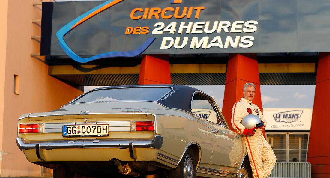 Opel Commodore A Coupé, Le Mans, Reise, Impression