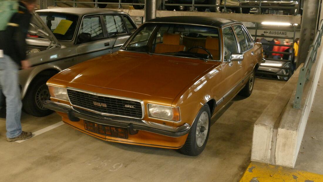 Opel Commodore B GSE auf der Bremen Classic Motorshow 2020