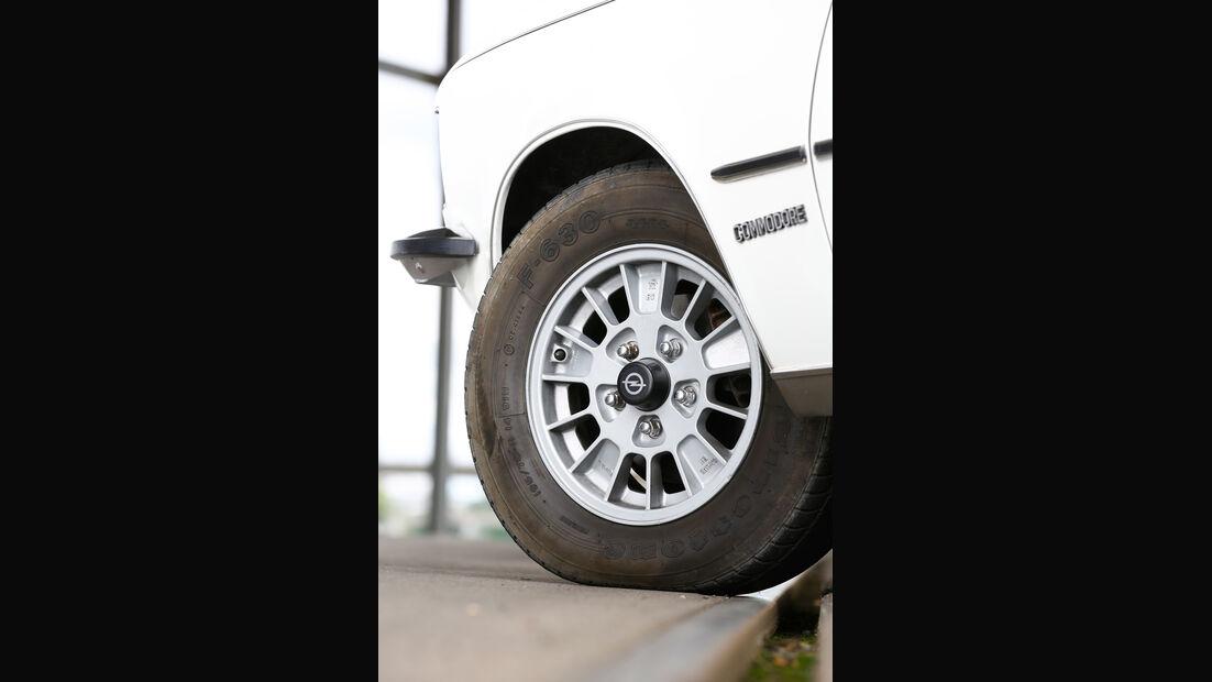 Opel Commodore B, Rad, Felge