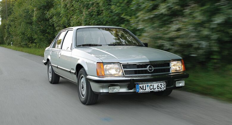 Opel Commodore Front