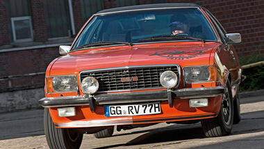 Opel Commodore GS/E, Frontansicht