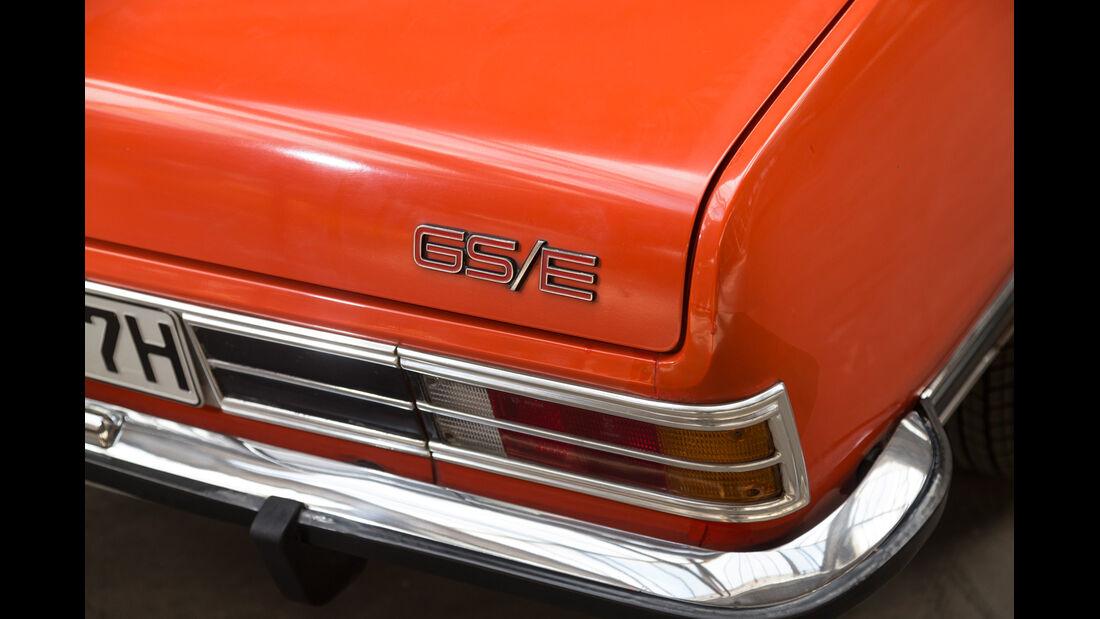 Opel Commodore GS/E, Heckleuchte