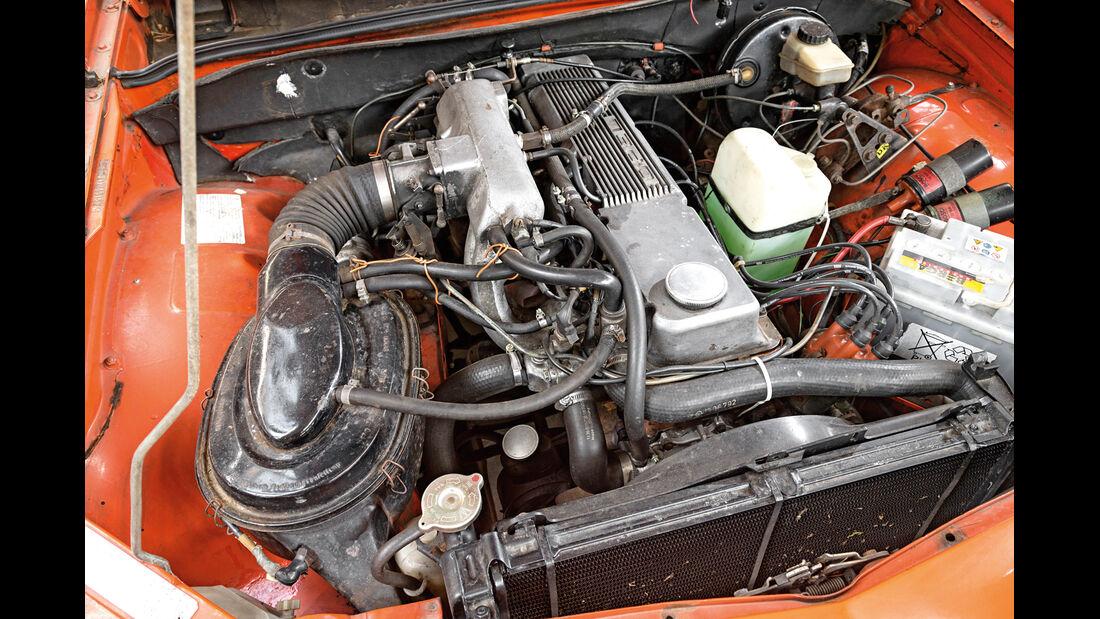 Opel Commodore GS/E, Motor