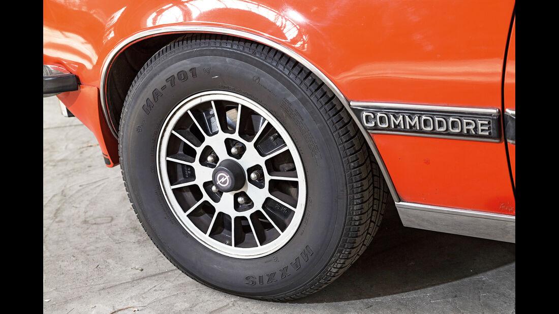 Opel Commodore GS/E, Rad, Felge