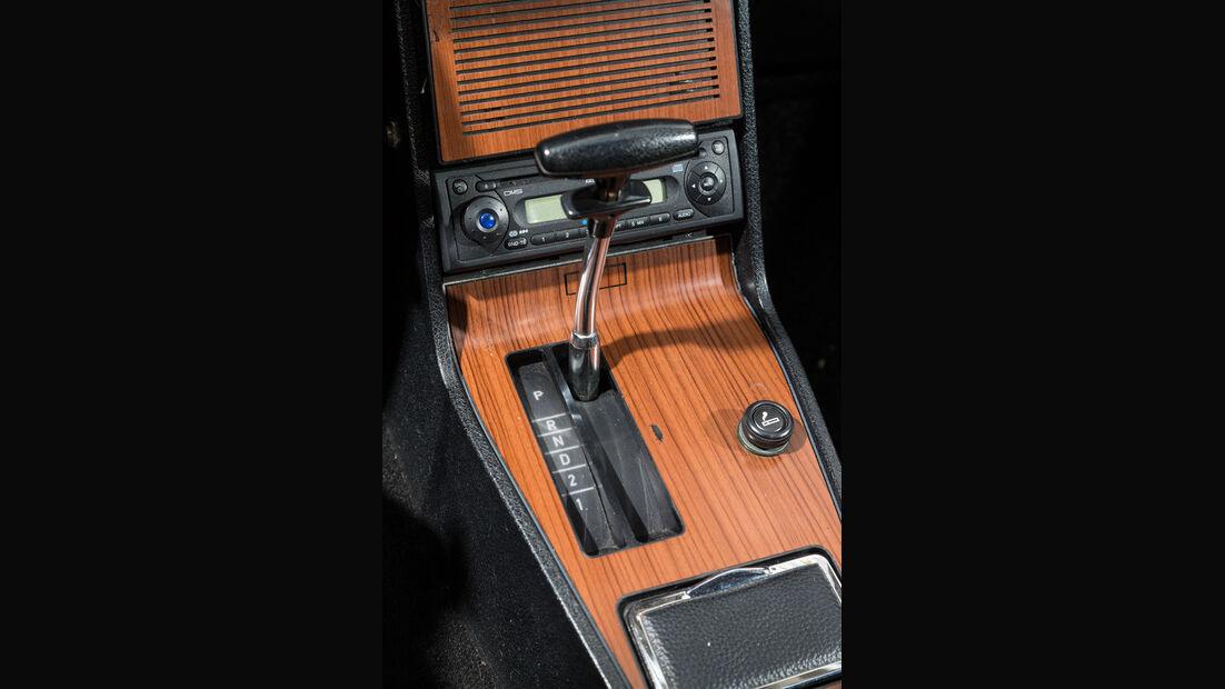 Opel Commodore GS/E, Schalthebel