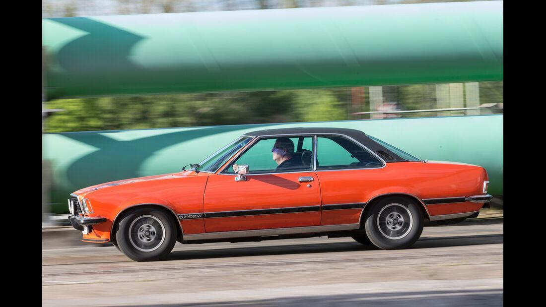 Opel Commodore GS/E, Seitenansicht