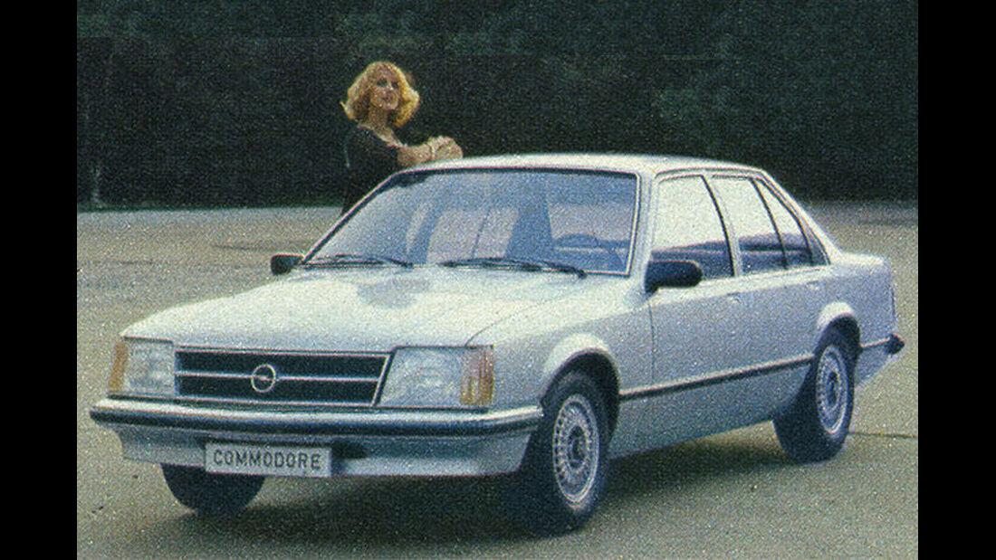 Opel, Commodore, IAA 1977