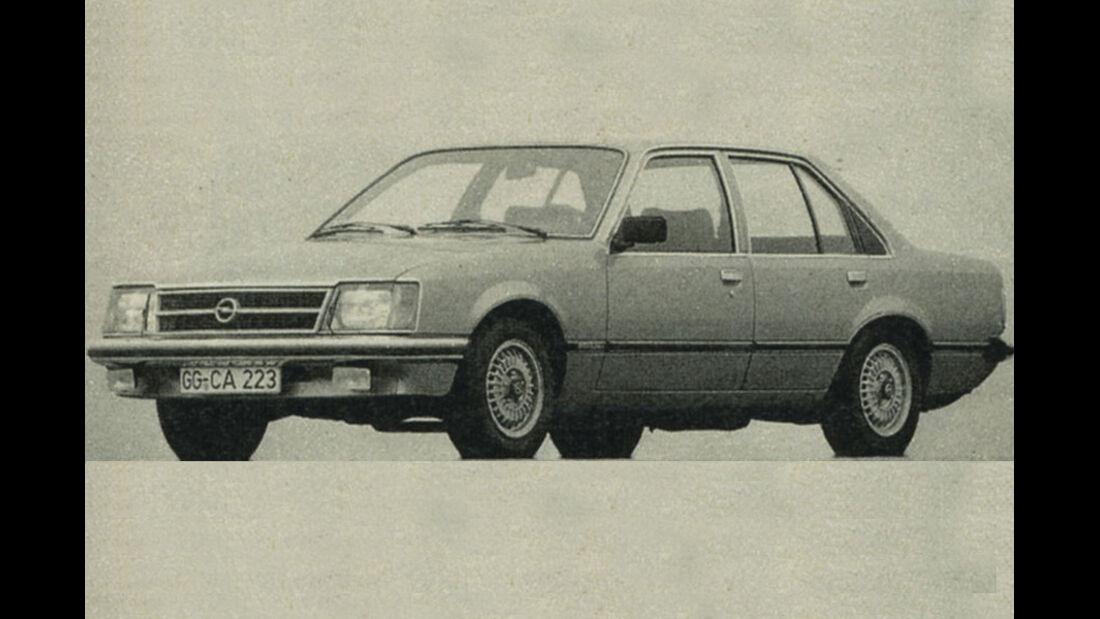 Opel, Commodore, IAA 1981