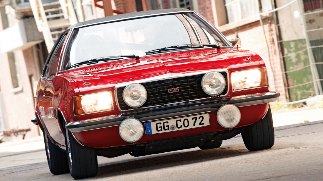 Opel Commodore, Kaufberatung, Frontansicht