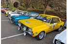 Opel Commodore, Seitenansicht