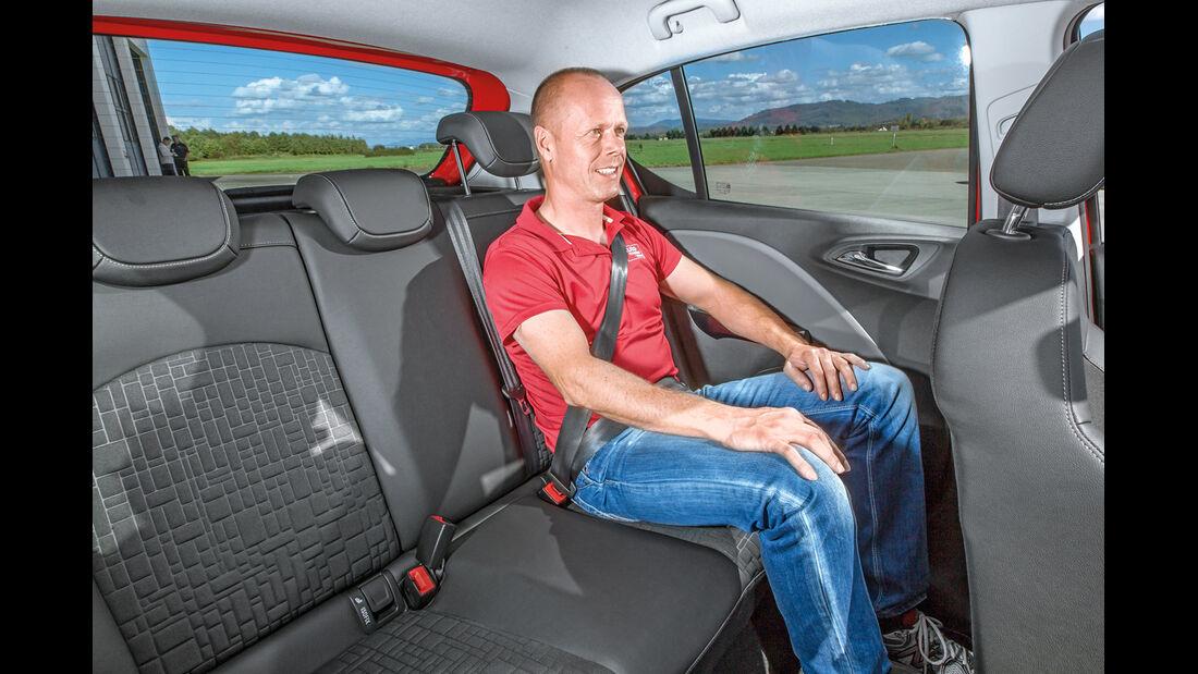 Opel Corsa 1.0 Ecotec DI Turbo, Fondsitz