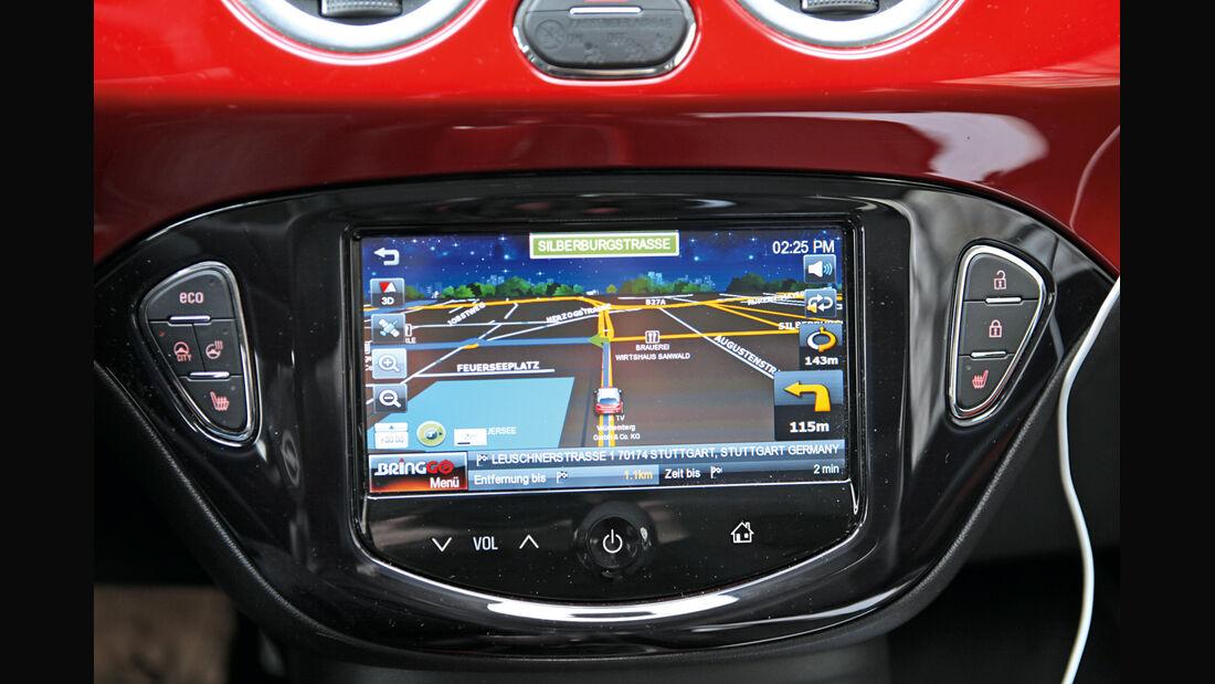 Opel Corsa 1.0 Turbo, Infotainment