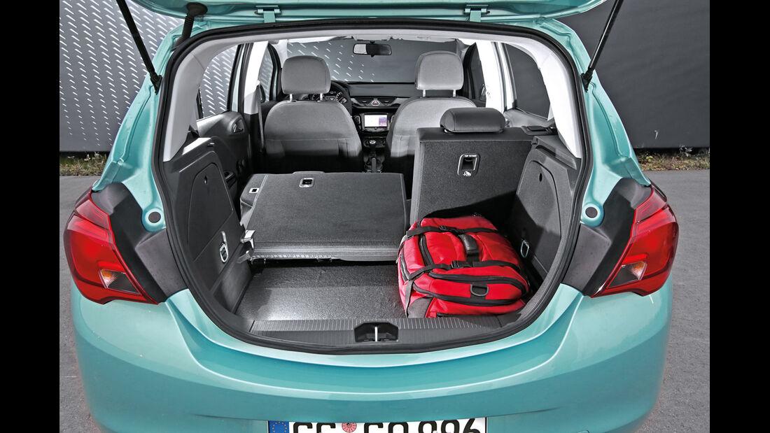 Opel Corsa 1.0 Turbo, Kofferraum