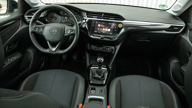 Opel Corsa 1.2 DI Turbo, Interieur