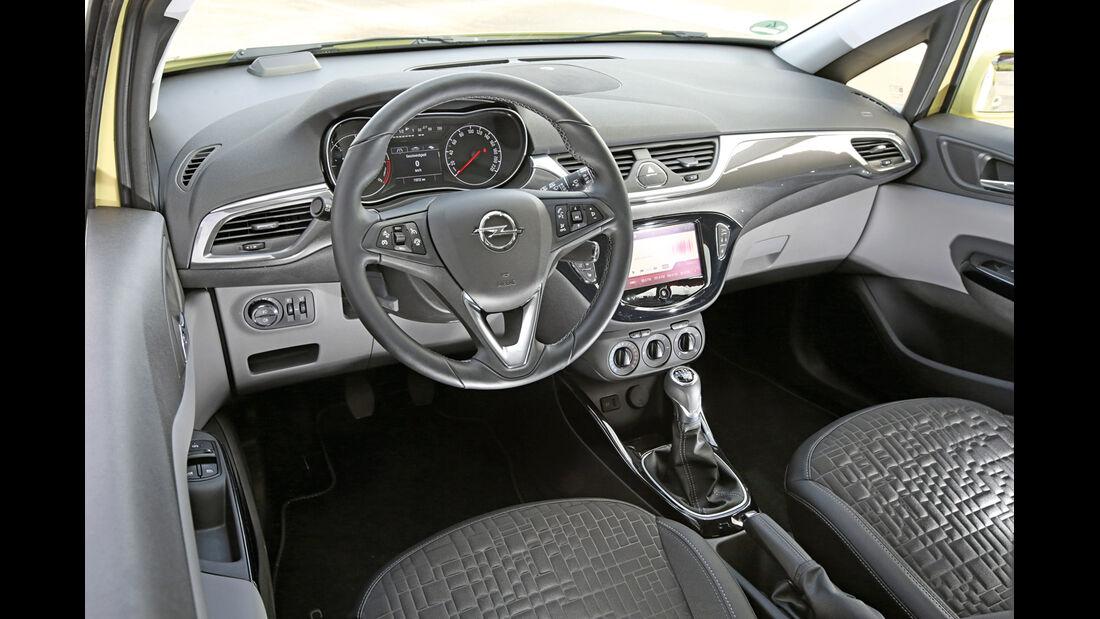 Opel Corsa 1.3 CDTI, Cockpit