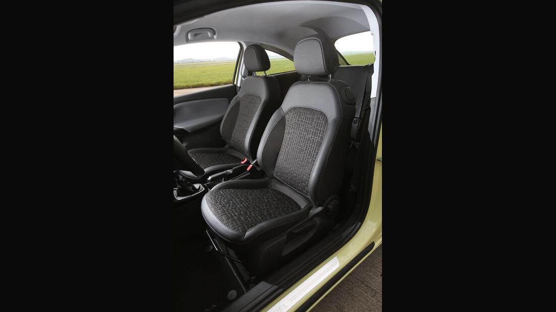 Opel Corsa 1.3 CDTI, Fahrersitz