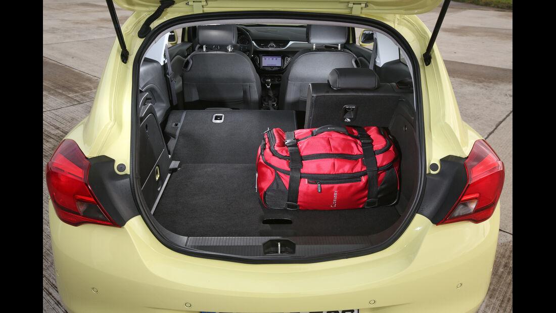 Opel Corsa 1.3 CDTI, Kofferraum