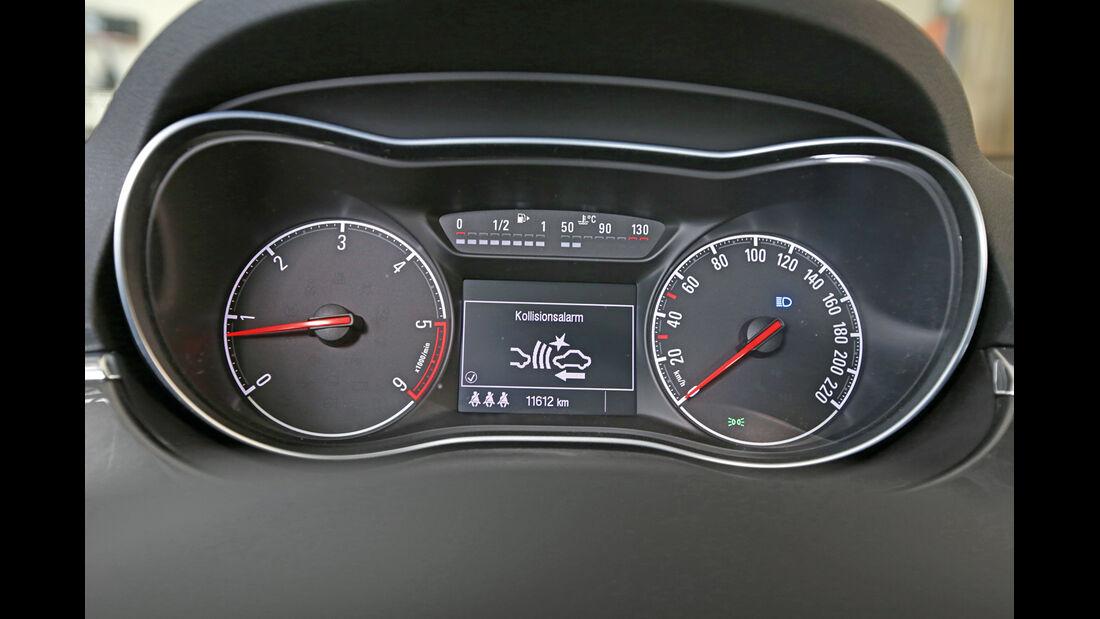 Opel Corsa 1.3 CDTI, Rundinstrumente