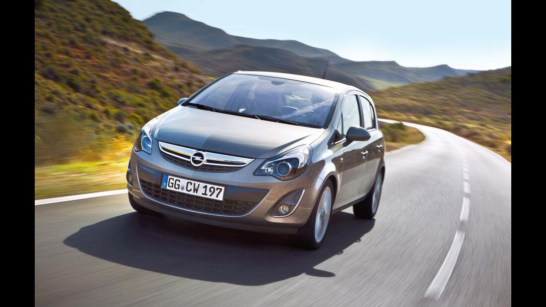 Opel Corsa 1.4, Frontansicht