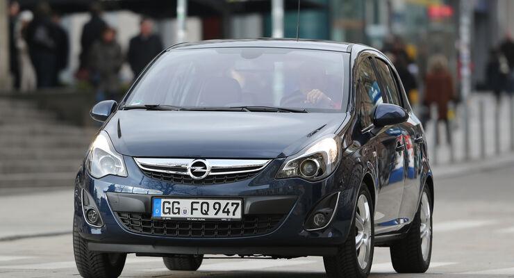 Opel Corsa 1.4 Innovation, Frontansicht