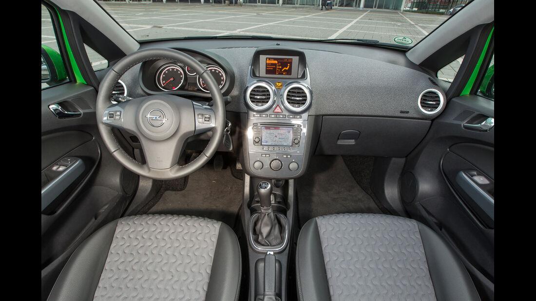 Opel Corsa 1.4 Turbo Ecoflex, Cockpit