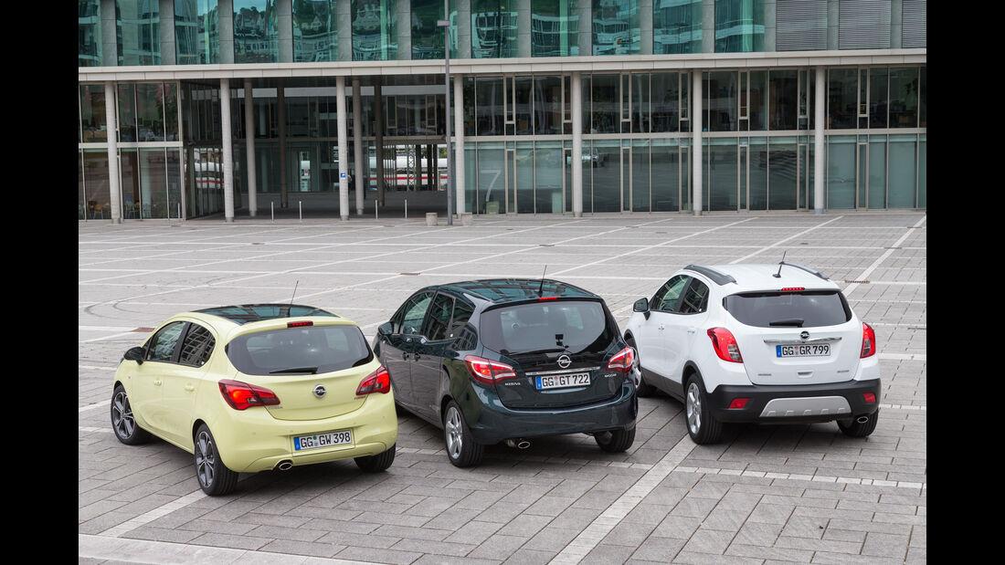 Opel Corsa 1.4 Turbo, Opel Meriva 1.4 Turbo, Opel Mokka 1.4 Turbo 4x4