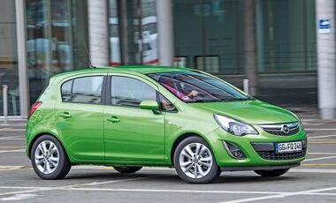 Opel Corsa 1.4 Turbo, Seitenansicht