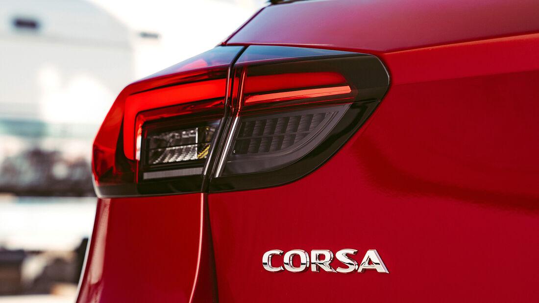 Opel Corsa (2019), Rücklicht