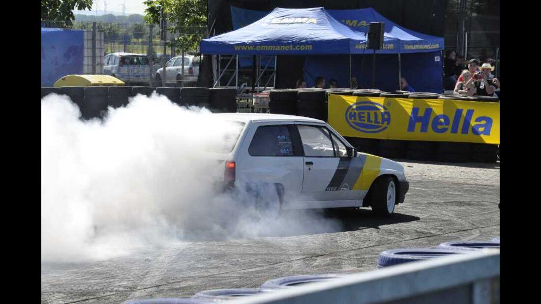 Opel Corsa A Burn-Out
