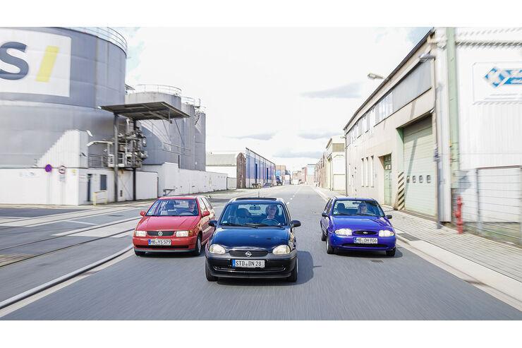 Ford Fiesta Mk4/5, Opel Corsa B, VW Polo 6N: Künftige Kult-Youngtimer?
