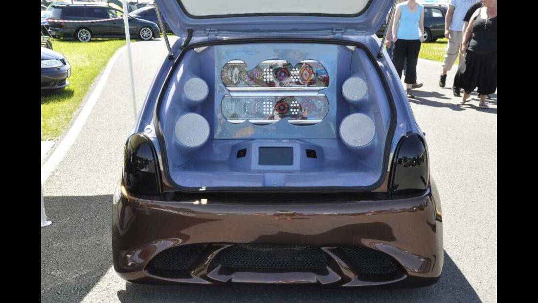 Opel Corsa B Heckausbau