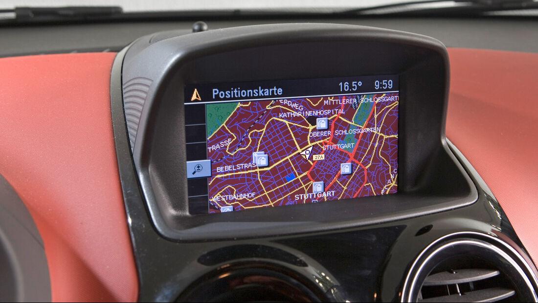 Opel Corsa D, Interieur