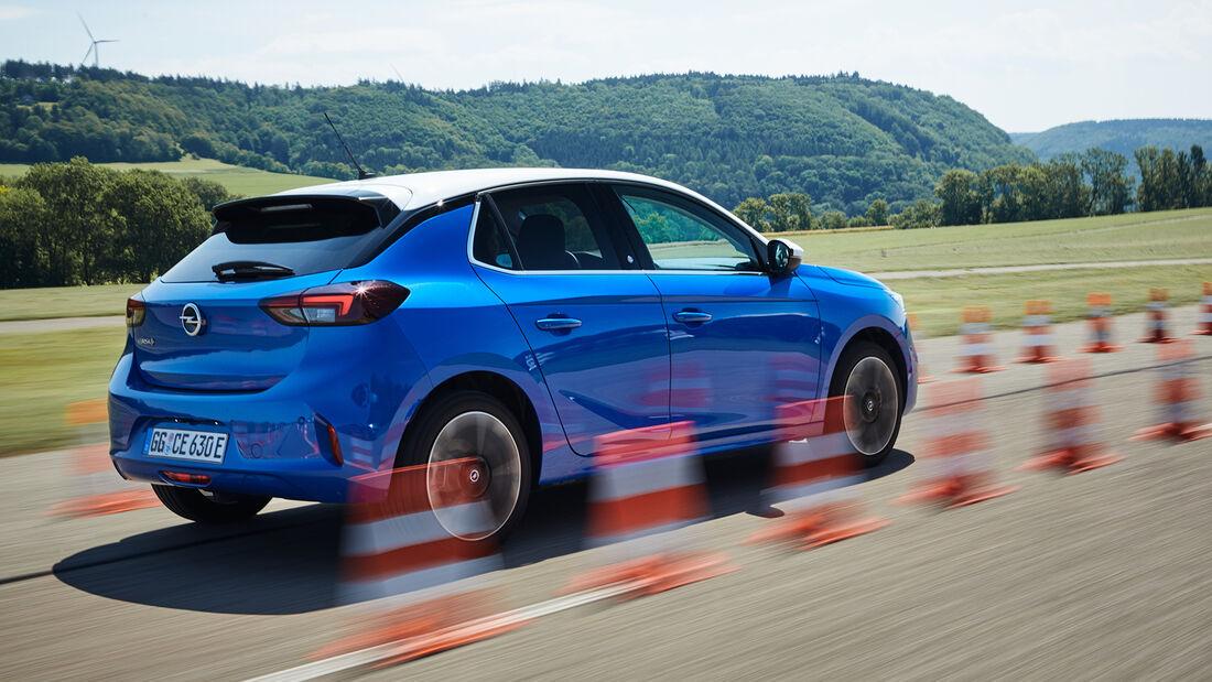 Opel Corsa E Elegance, Exterieur