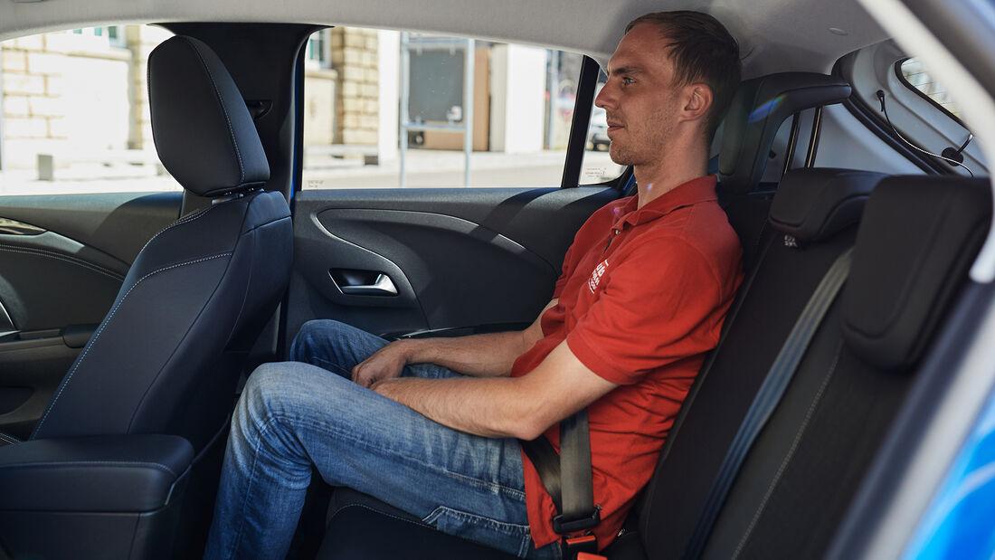 Opel Corsa E Elegance, Interieur