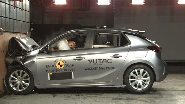 Opel Corsa EuroNCAP-Crashtest