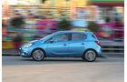 Opel Corsa, Exterieur Seite