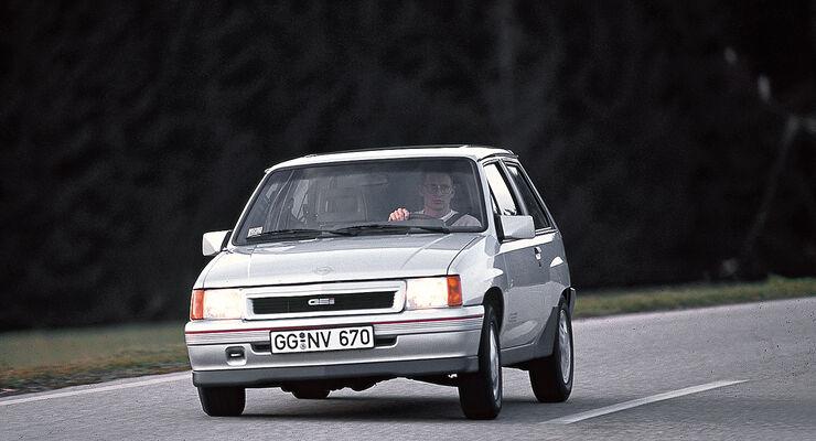 Opel Corsa GSI, Frontansicht