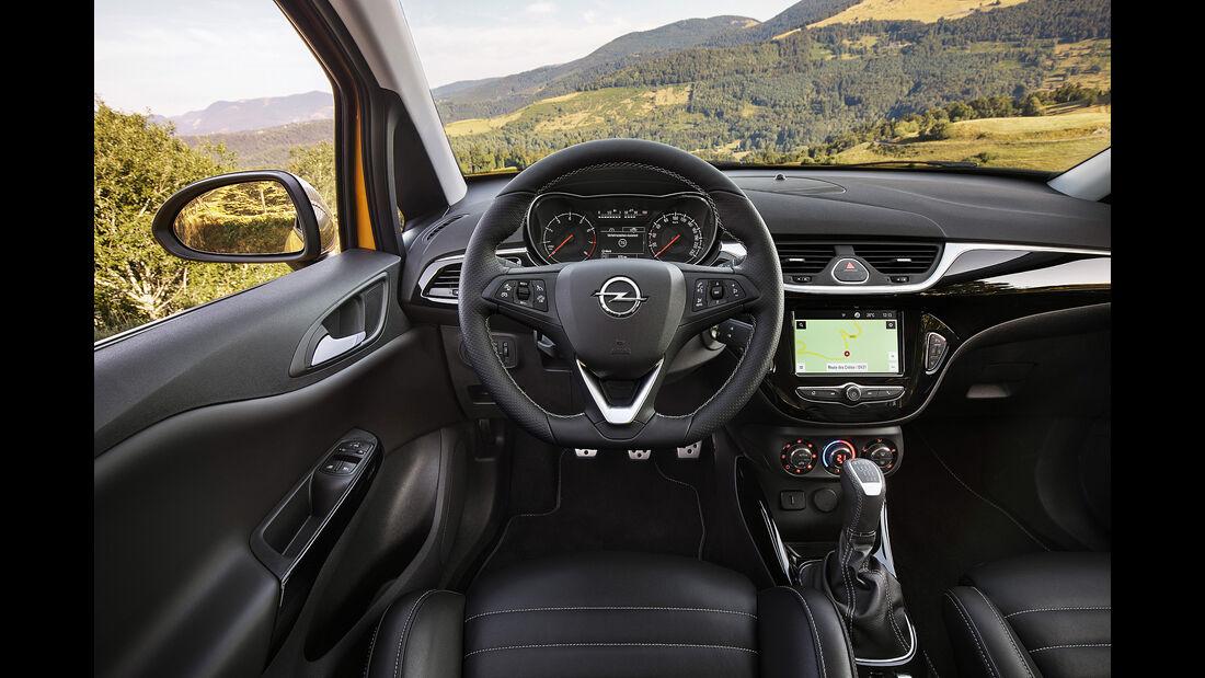 Opel Corsa Gsi, Innenraum, Cockpit, Lenkrad