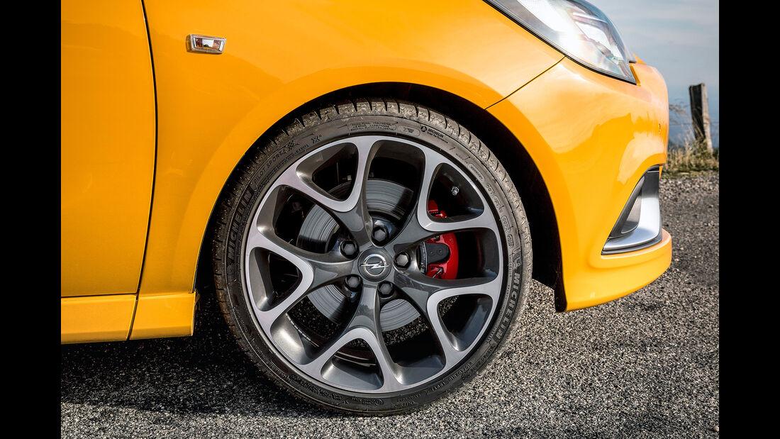 Opel Corsa Gsi, Rad, Reifen, Felge, Bremse
