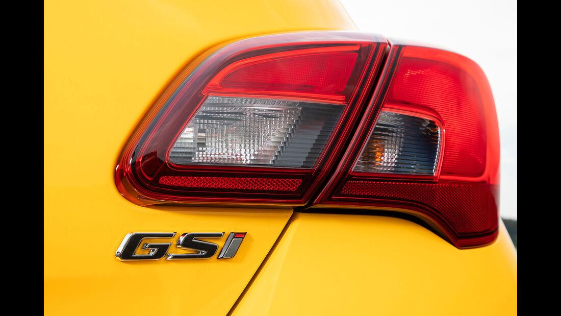 Opel Corsa Gsi, Rücklicht, Modellbezeichnung