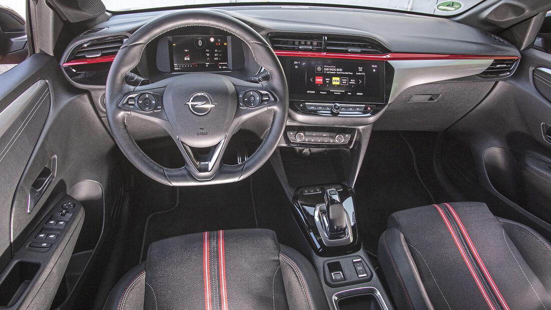Opel Corsa, Interieur