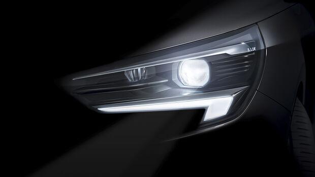 Opel Corsa LED-Matrixlicht, Exterieur