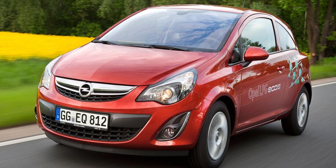 Opel Corsa LPG, Frontansicht